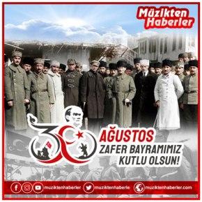 30 AĞUSTOS ZAFER BAYRAMIMIZ KUTLUOLSUN!